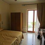 Room 105 - balcony faces Vesuvius and Bay of Naples