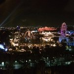 amazing view of Disneyland