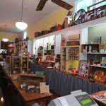 accompanying gift shop
