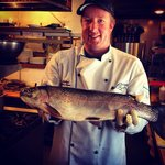 Bring in your trout from your daily catch and CJ's will clean and cook for you