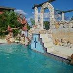Mayan pool