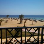 View from room at Azur - Berenice, Egypt.