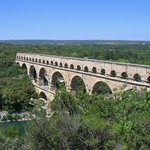 Pont du Gard from the Right Bank