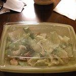 Caesar salad that should've been put back