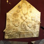 Gold Inca Astronomical Map at Temple of The Sun