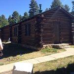 Frontier Cabin von außen