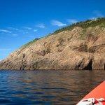 Exploring Cape Breton's waters.
