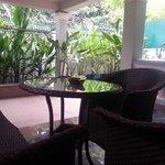 Executive suite outdoor area