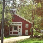 Carriage House- more rustic with a cabin feel.  Very comfortable stay!