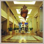 The lobby hallway