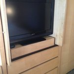 TV Cabinet that is modified and does not slide out