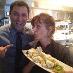Brandon and Chef Deb