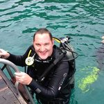 Richard diving!!