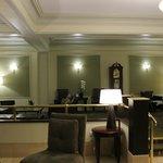 Lobby, excellent front desk service