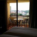 View from room, Melaka town..