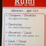Puka Rumi restaurant info, Ollantaytambo
