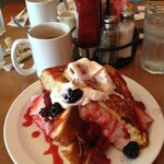 berries n cream french toast