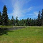Pond on the Kahler golf course