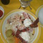 Shrimp & lobster plate