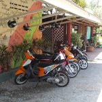 i rent a motorbike its cheap ...