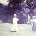 Croquet 1910!