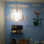 Dusty chandelier