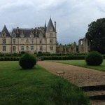 Vue depuis le thuya du château, unique en Europe, je n'en dit pas plus, allez le découvrir