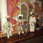 Marionette di alcune maschere tradizionali italiane