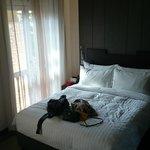 房間, 床很舒服