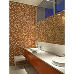 Orange bathroom, Luna2 private hotel