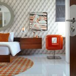 Orange bedroom, Luna2 private hotel
