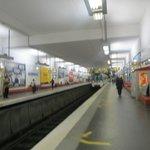 stazione mairie de clichy - passerella stazione