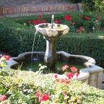 Fontana in cui convogliano i rii di acqua