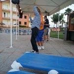 Peppe e Cleandra facevano ballare le danze latino-americane