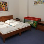Double room de luxe with a cot