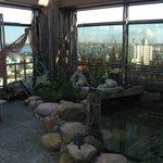 Rooftop onsen