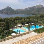 Hotel Formentor.Vista desde la habitación