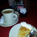 Coconut pie and coffee... Insanely good!