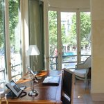 Study and Balcony