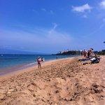 Канаапали пляж перед отелем