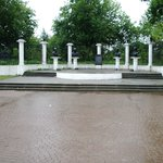 Площадь напротив музея