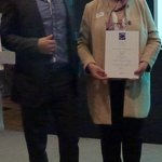 Our Excecutive Chef Thawanrat Thivimutkun with Award