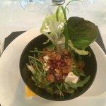 Esta salada estava simplesmente MARAVILHOSA!
