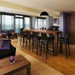 Sheraton Club Lounge im Sheraton München Arabellapark Hotel