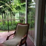 Lazychair outside the room