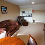Living Area in Superior Suites