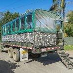 camión para excursiones