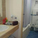 Bathroom and washhand basin