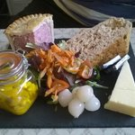 ploughman's style lunch