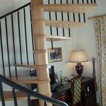 Spiral Stairs to the bedroom